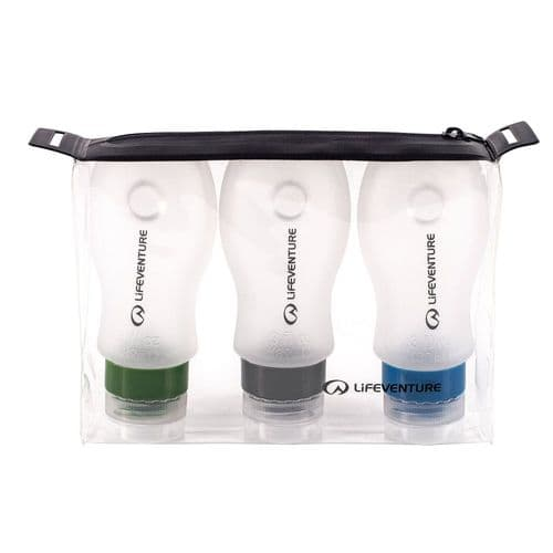 LifeVenture Silicone Air Travel Bottles Set