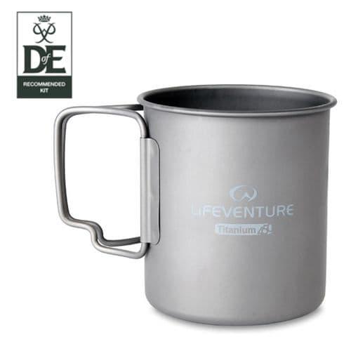 Lifeventure Titanium Mug