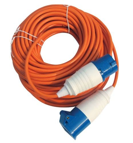 Maypole 230V /  Electric Hook-Up UK Mains Connection Lead – 25m or 10m