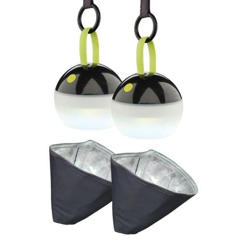 Outdoor Revolution Up/Downlighter Awning Light System – Pack of 2