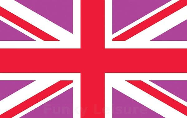 Pink & Red Union Jack