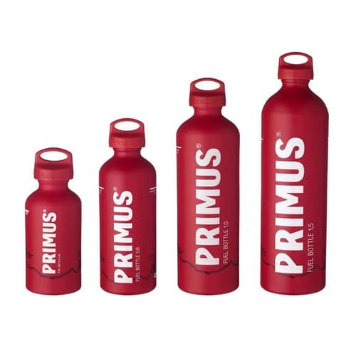 Primus Fuel Bottle – 1L, 0.6L & 0.35L - RED