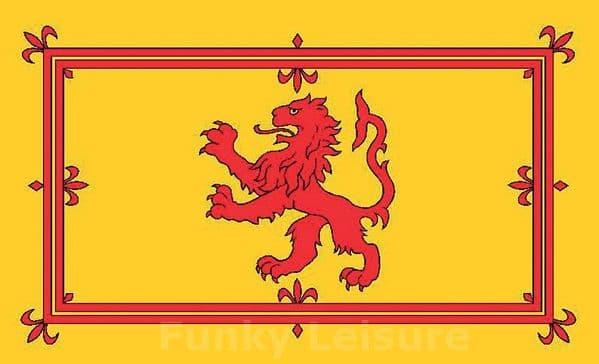 Royal Flag of Scotland - Lion Rampant
