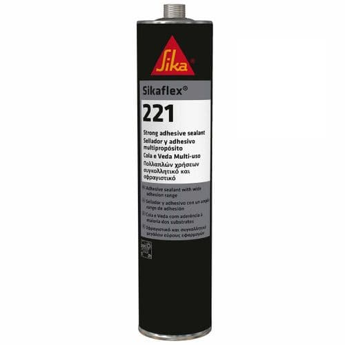 Sikaflex 221 High-Bond Metal Adhesive & Sealant – 300ml