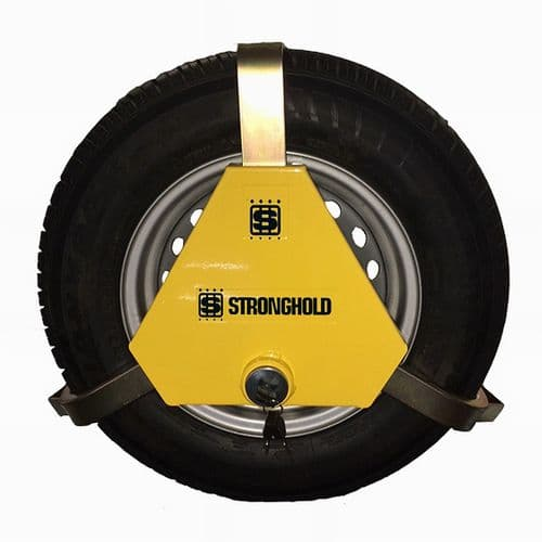 """Stronghold Apex Anti-Theft 15""""-18"""" Wheel Clamp - VW T4/T5/T6"""