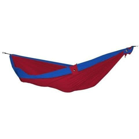Ticket to the Moon Parachute Hammock -Double - Burgundy/Blue