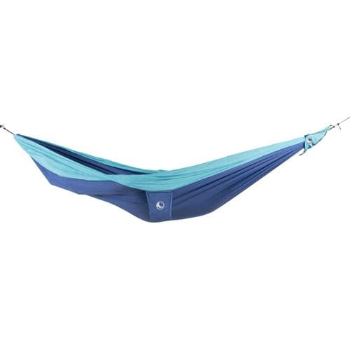 Ticket to the Moon Parachute Hammock - King Size - Royal Blue/Turquoise