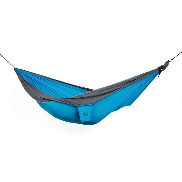 Ticket to the Moon Parachute Hammock - Original - Aqua/Grey