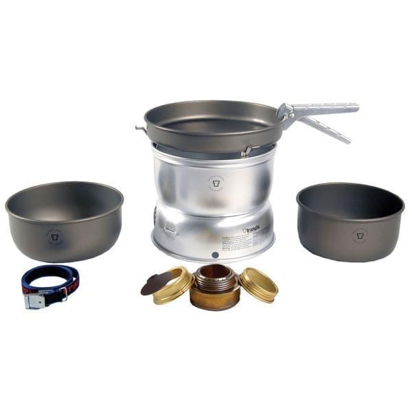 Trangia 25-7 UL/HA 3-4 Person Stove & Cook Set (Hard-Anodized)