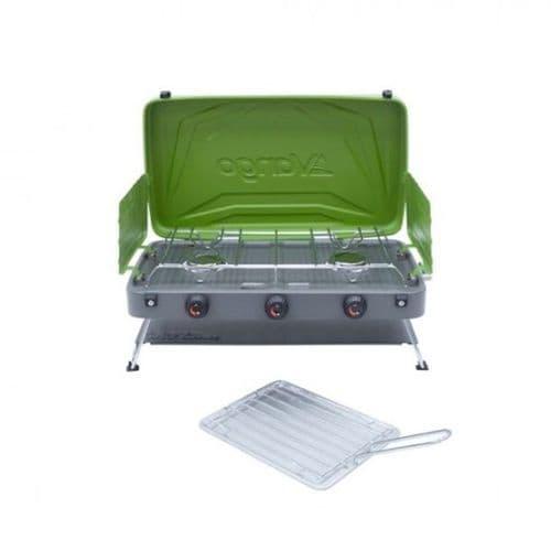 Vango Combi IR Grill Compact Double Cooker