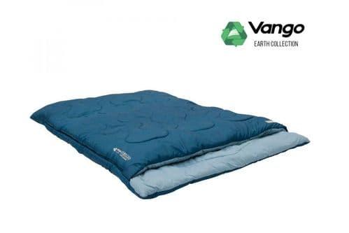 Vango Evolve SuperWarm Double Sleeping Bag - Moroccan Blue