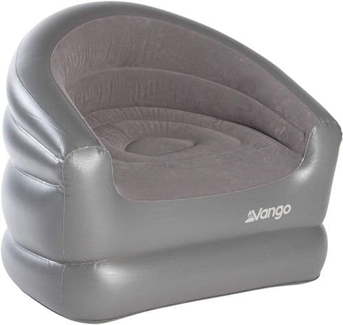 Vango Inflatable Armchair - Grey