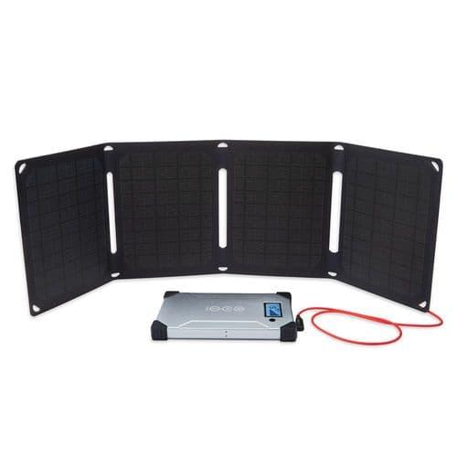 Voltaic Arc 20 Watt Folding Solar Panel Charging Kit
