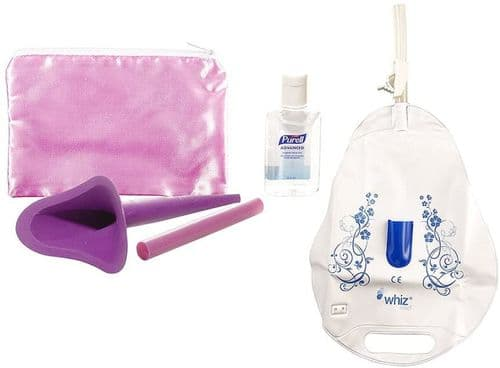 Whiz Freedom Female Urination Device - Ultimate Pack