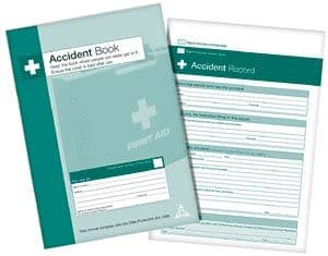 Accident Log Book  A4 Size