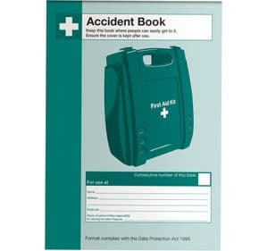 Accident Log Book A5 Size