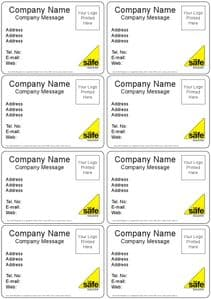 Boiler Stickers (Pack Of 50)