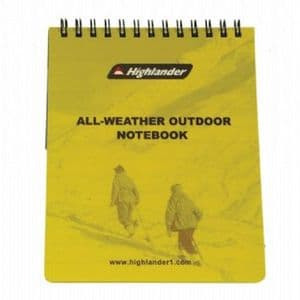 Outdoor Waterproof Notebook