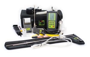TPI 709R Flue Gas Analyser CPA1 Kit 3 with 2 x Pipe Clamps + CPA1 Cooker Probe Kit