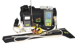 TPI 716 Flue Gas Analyser CPA1 Kit 3 with 2 x Pipe Clamps + CPA1 Cooker Probe Kit (716-KIT3)