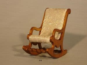 113. Victorian Rocking Chair