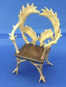 237. Antler Chair (curved antlers)