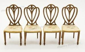 49. Four Hepplewhite Chairs