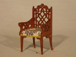 91. Chinese Chippendale Carver