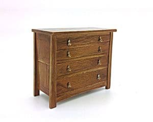 Arts and Craft chest of drawers