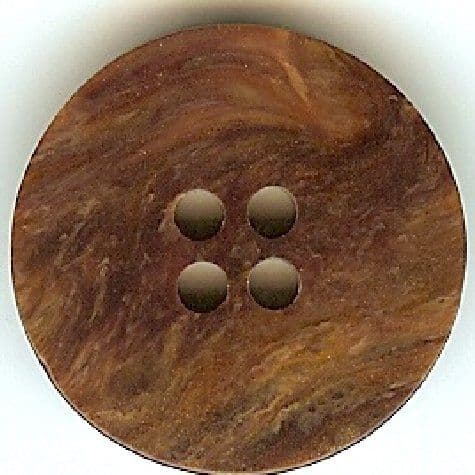 Brown Marble Button B300043