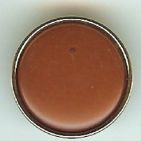Brown & Old Gold Button B100135