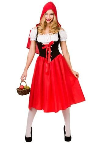 Red Riding Hood Plus size Costume (EF2163)