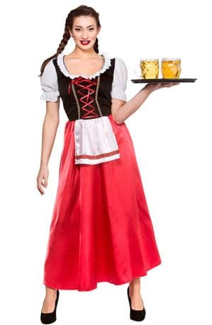 Bavarian Beer Wench Plus Size Costume (EF2198)