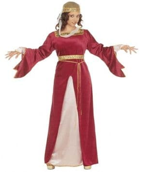 Court Milady Plus Size Medieval Costume (3129)