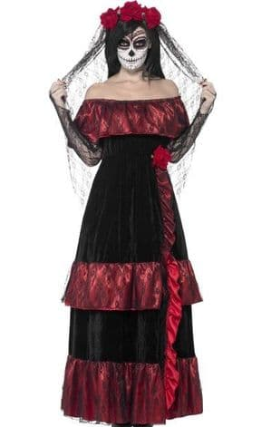 Mexican Bride of the Dead Plus Size Costume (HF5121)