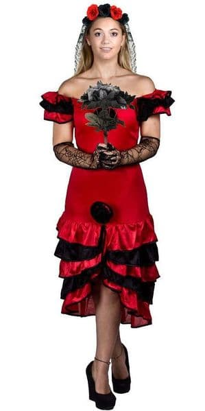 Day of the Dead Plus Size  Halloween Costume
