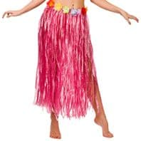 Hawaiian Grass Skirt Pink (9442)