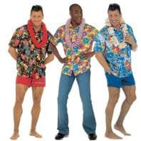 Hawaiian Shirt Costume (3 styles)
