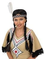 Indian Squaw Wig (2863)
