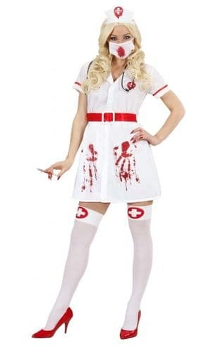 Infected Bloody Nurse Costume (8716)