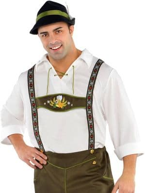 Plus size Bavarian Beer Man costume