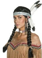 Native American Indian Wig (42042)