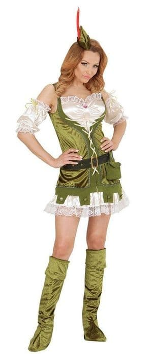 Robin Of The Woods  Plus Size Costume (01444)