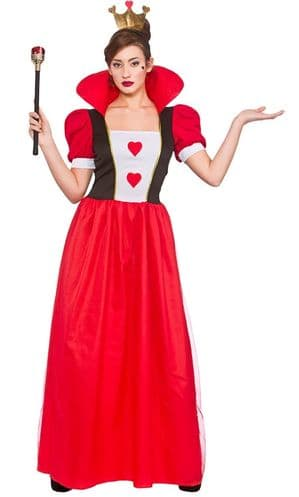 Storybook Queen of Hearts Plus Size Costume (EF2224)
