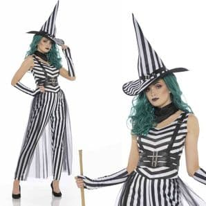 Striped Witch Costume
