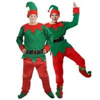 Unisex 5 piece Elf Costume (ILFD4555)