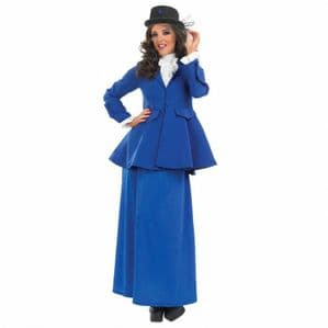 Victorian Nanny Mary Poppins Plus Size Costume (3251)
