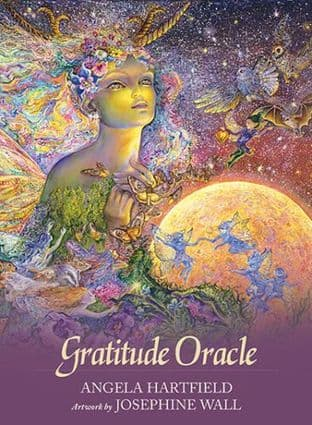 Angela Hartfield - Gratitude Oracle Cards (Illustrations by Josephine Wall)