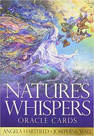 Angela Hartfield - Nature's Whsipers Oracle Cards (Illustrations by Josephine Wall)