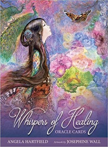 Angela Hartfield - Whsipers of Healing Oracle Cards (Illustrations by Josephine Wall)